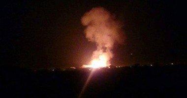 سقوط 3 قذائف صاروخية مجهولة المصدر على أقسام الشرطة فى العريش