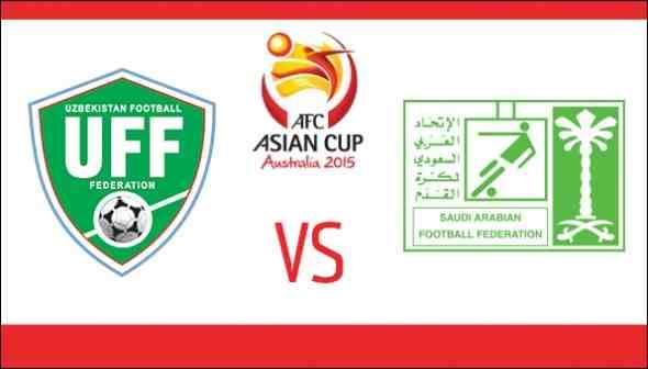 نتيجة مباراة السعودية وأوزباكستان في أمم آسيا