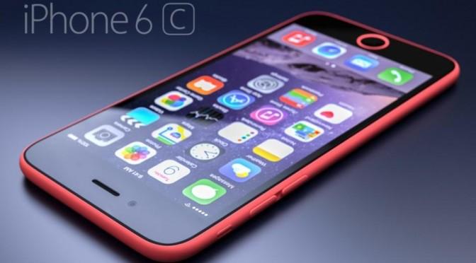 تصميم موبايل أيفون 6C الجديد