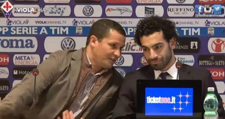 محمد صلاح في المؤتمر الصحفي
