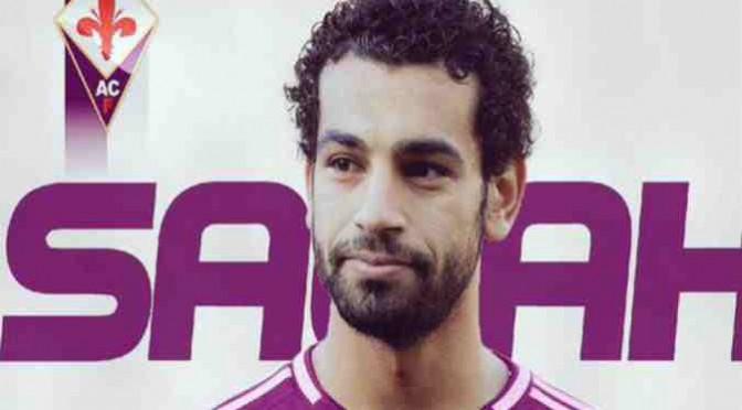 محمد صلاح يرتدي القميص رقم ٧٤ مع ناديه الجديد