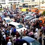 مصرع وإصابة 4 من أسرة واحدة في حادث مروع