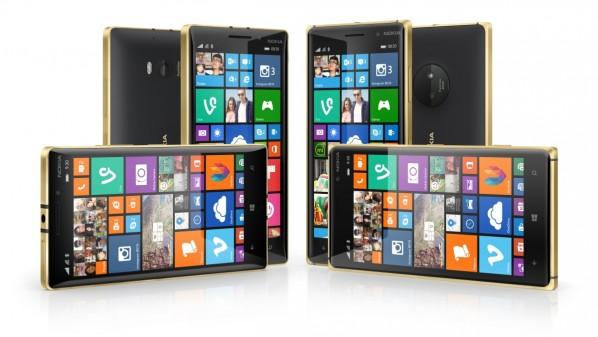 نسخه ذهبيه من هاتفي Lumia 830 و930 Lumia