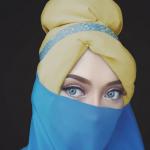 """الميكب أرتيست """"ساراسواتي"""" تنجح في تجسيد أميرات ديزني بالحجاب"""