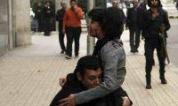 نشطاء يحييون ذكرى شيماء الصباغ أمام قبرها